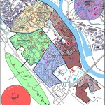2014, plattegrond tbv secties wijk B zonder tekst