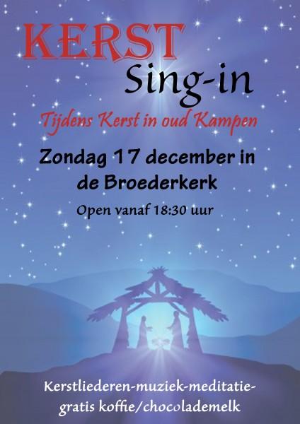 Kerst Sing in