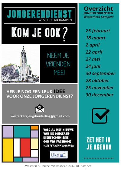 Voorstel-Jongerendiensten Westerkerk